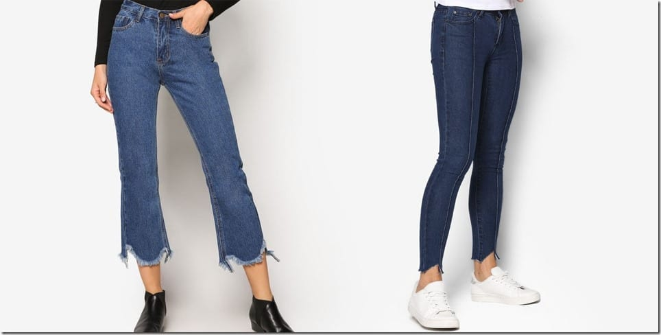 5 Affordable Raw Edge Jeans To Up Your Denim Game This Season