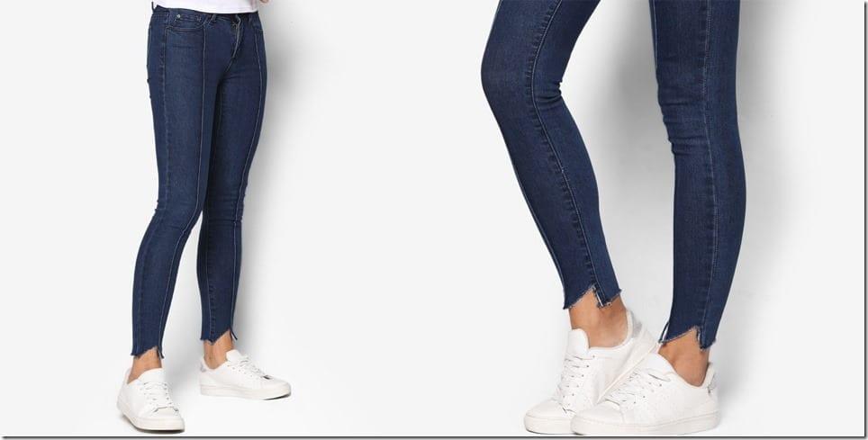 shredded-hem-skinny-jeans