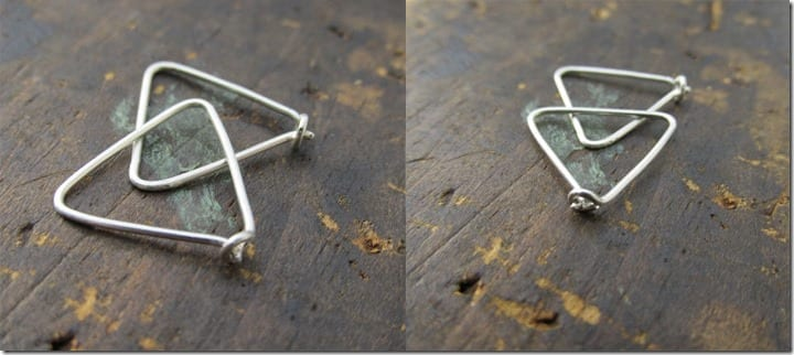 tiny-hammered-triangle-hoops
