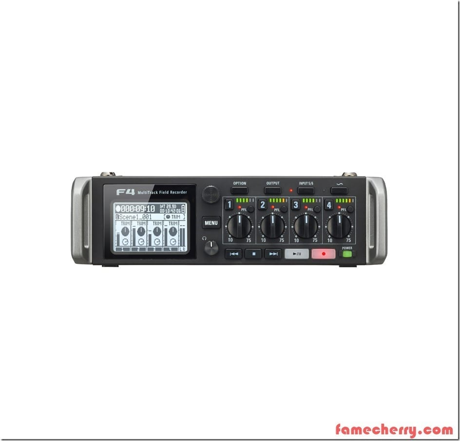 Zoom F4 MultiTrack Field Recorder Malaysia