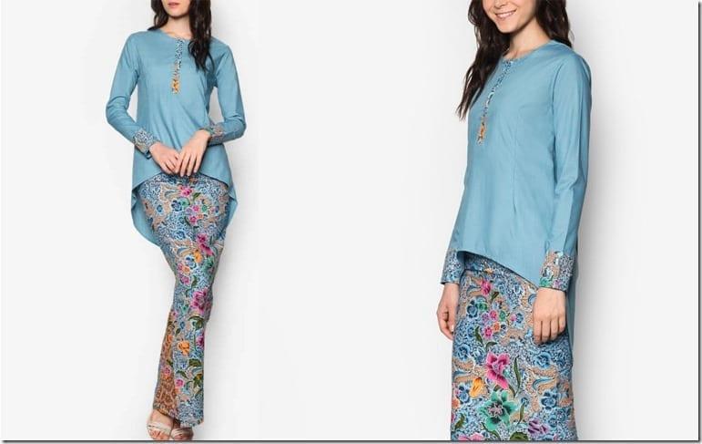 batik-inspired-ocean-blue-kurung