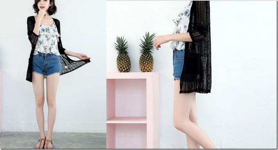 black-lace-sheer-cardigan