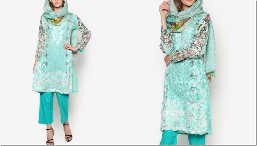 floral-mint-green-kurti-set
