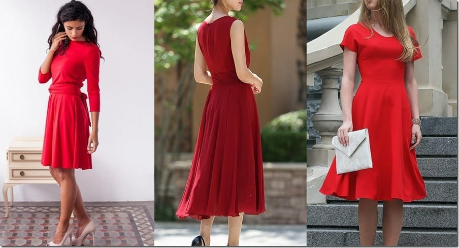 10 HOT Red Party Dress Ideas For Your Holiday Festivities