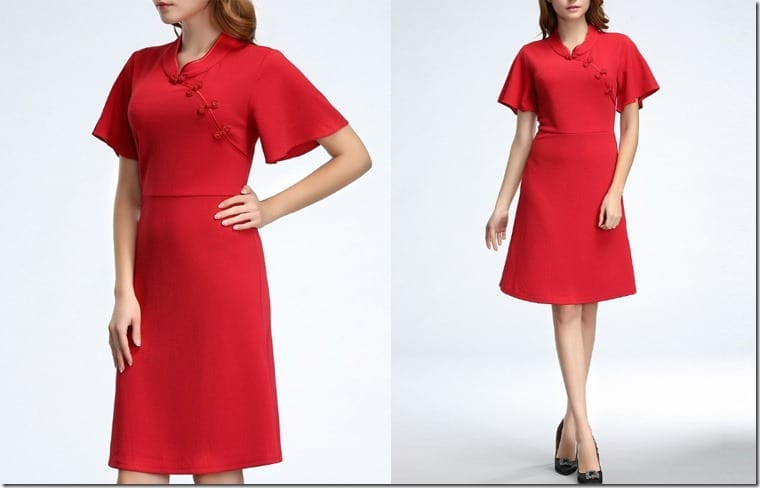 oriental-style-red-dress