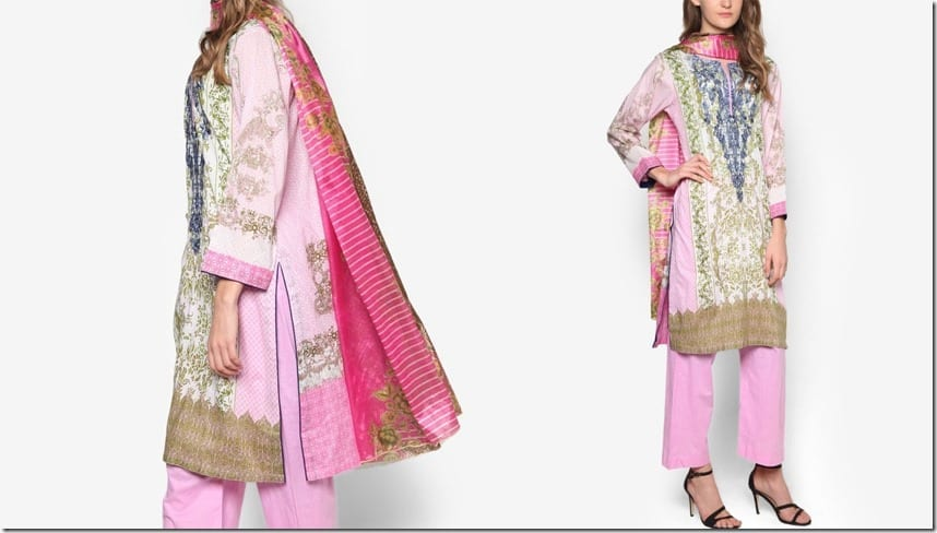 pink-blue-patterned-kurti-set