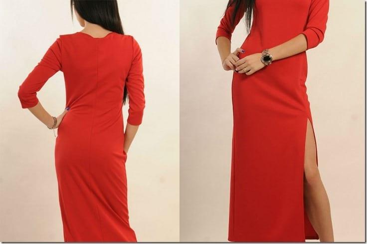 red-long-dress-side-high-slit
