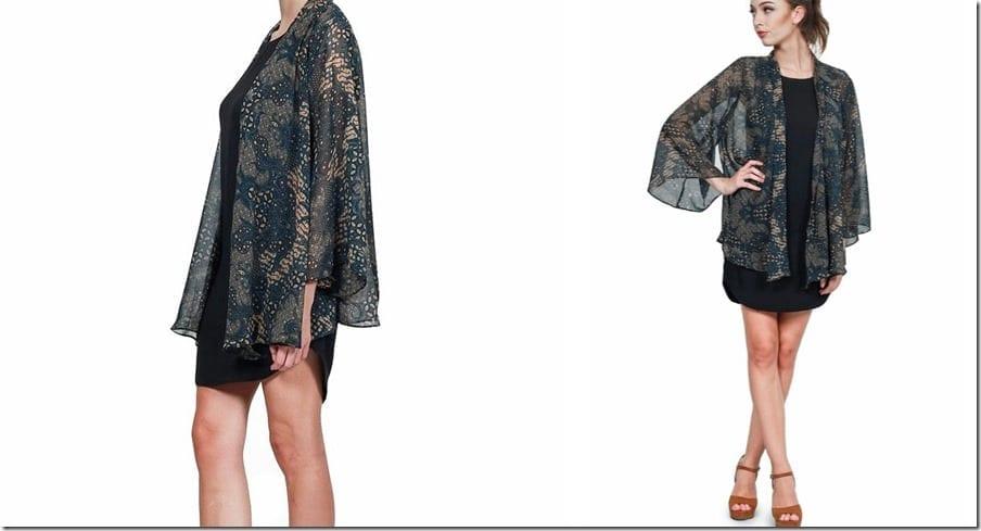 sequined-printed-chiffon-kimono