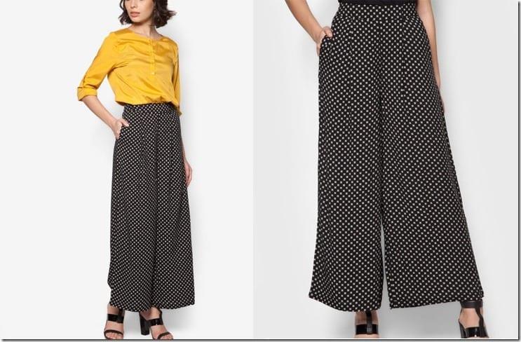 small-print-monochrome-palazzo-pants
