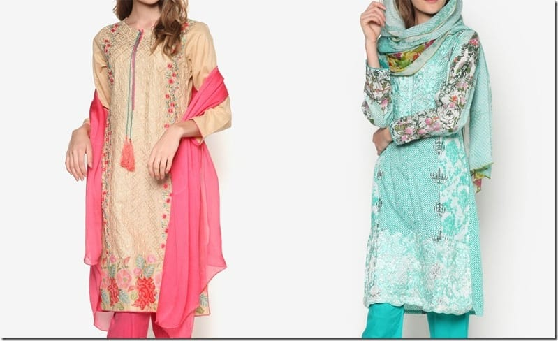 Stylish Kurti Set Ideas For Diwali 2016
