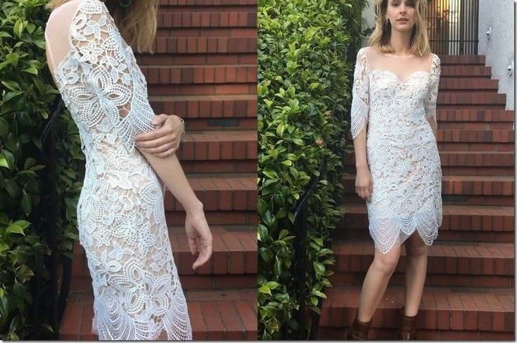 white-boho-short-lace-dress-sleeves