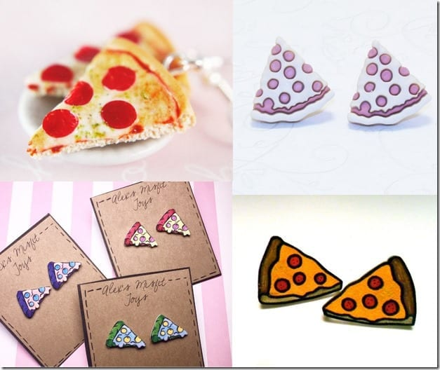 Delicious Pizza Earrings You Can Wear