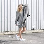 Fashionista NOW: This Is Why You Want To Wear Slouchy Oversize Grey Sweater Every Chilly Day
