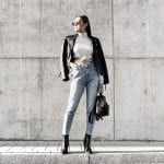 Fashionista NOW: How To Wear A Black Biker Jacket Like A Street Style Pro?