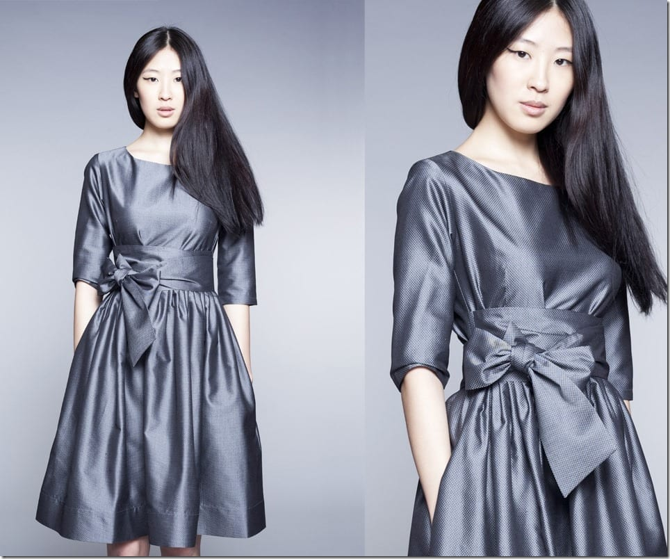 50s-style-boat-neck-cocktail-grey-dress