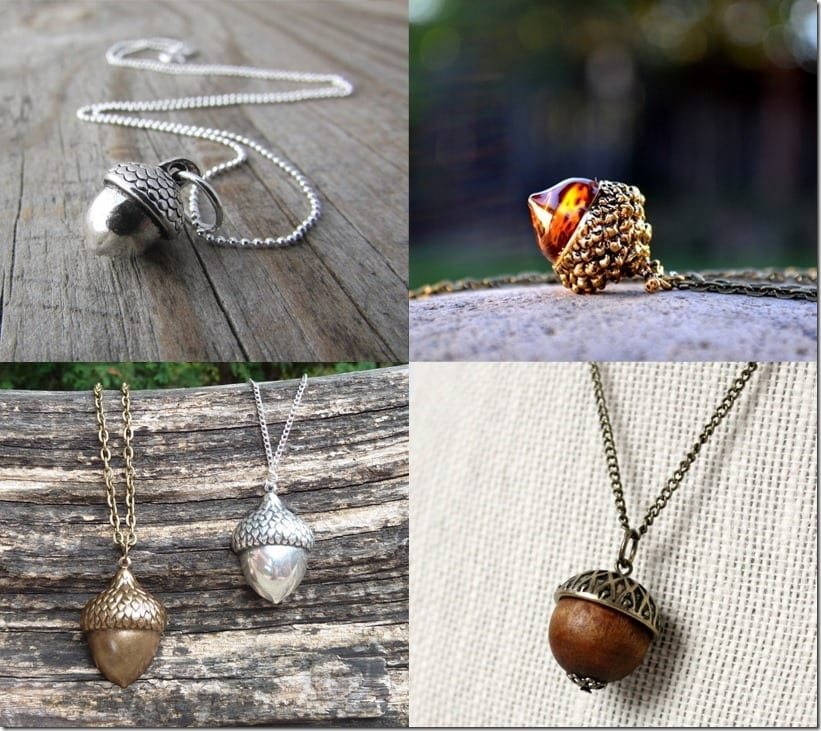 7 Nature-Inspired Acorn Necklace Style Ideas