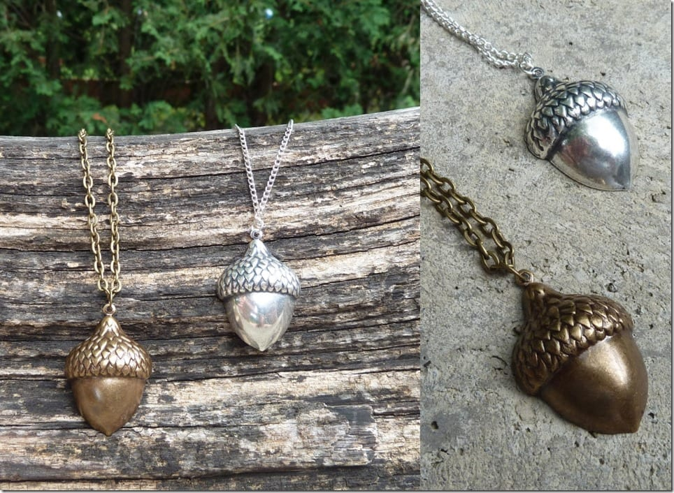 antique-acorn-charm-necklace