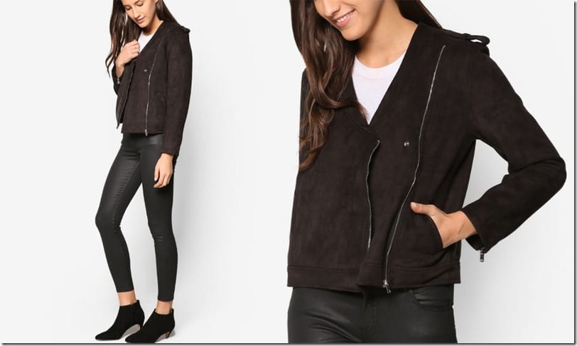 black-collarless-biker-jacket