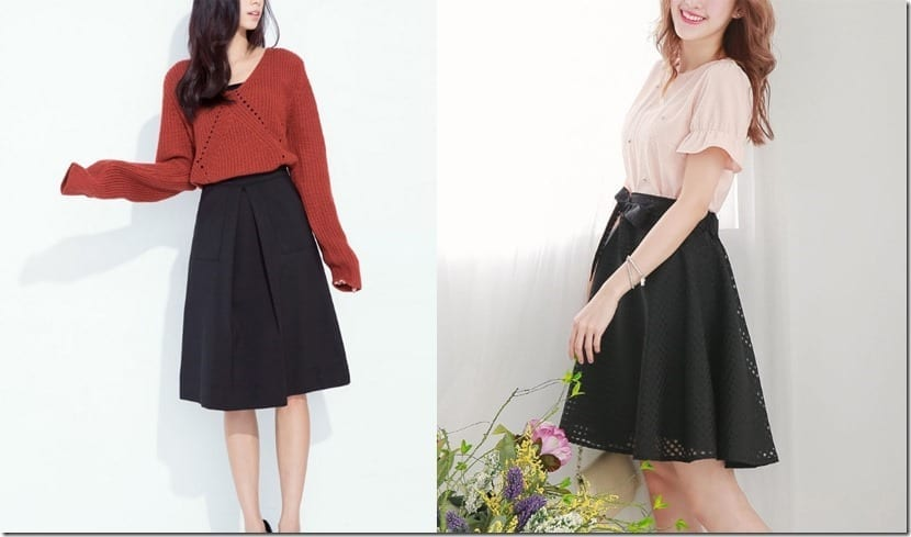 7 Black Skirt Styles To Go With Everything