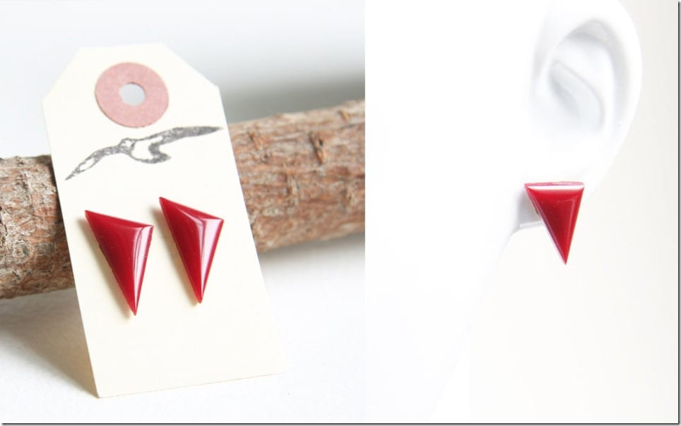 blood-red-offset-triangle-stud-earrings