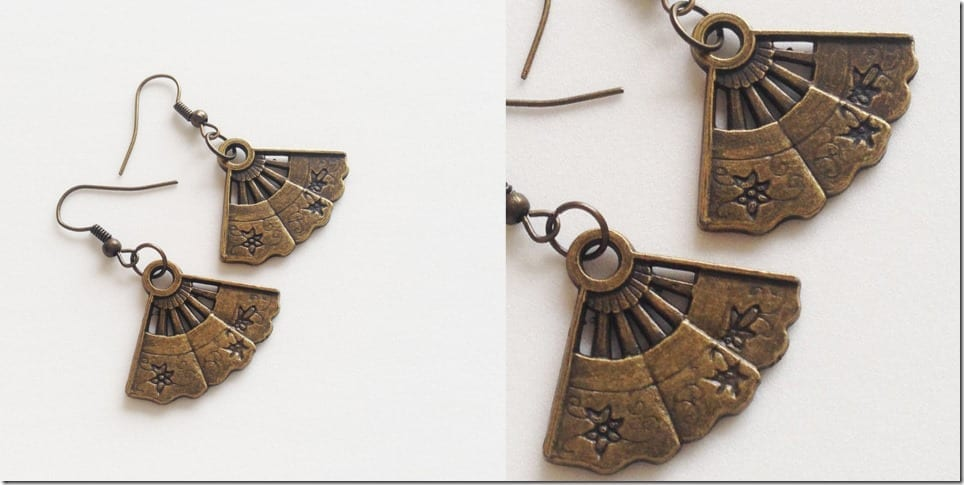 bronze-fan-charm-earrings