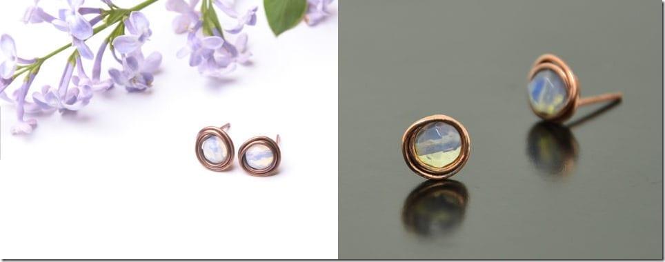 copper-moonstone-stud-earrings