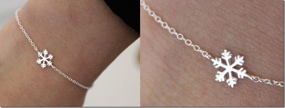 dainty-snowflake-charm-bracelet