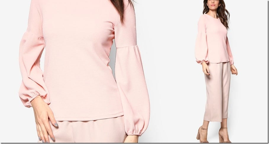 dusty-pink-bishop-sleeve-top