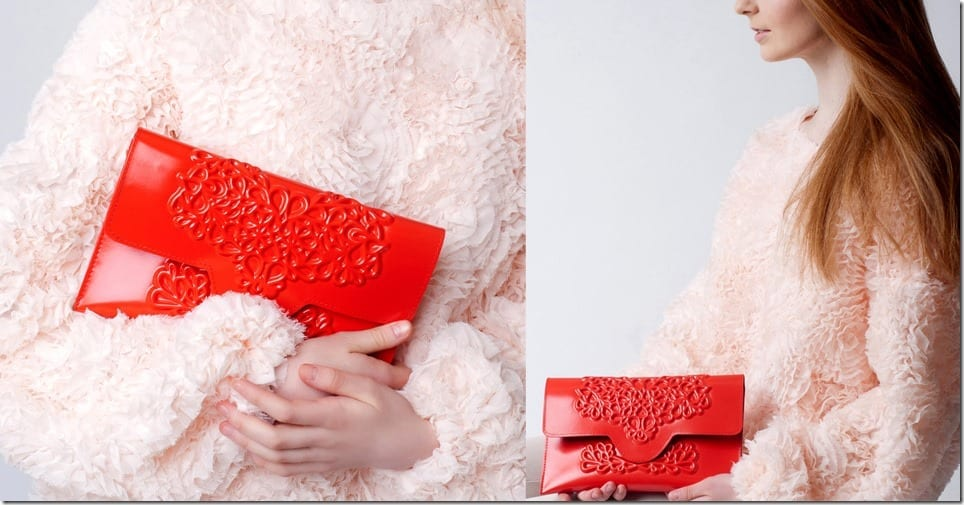 embossed-red-christmas-clutch