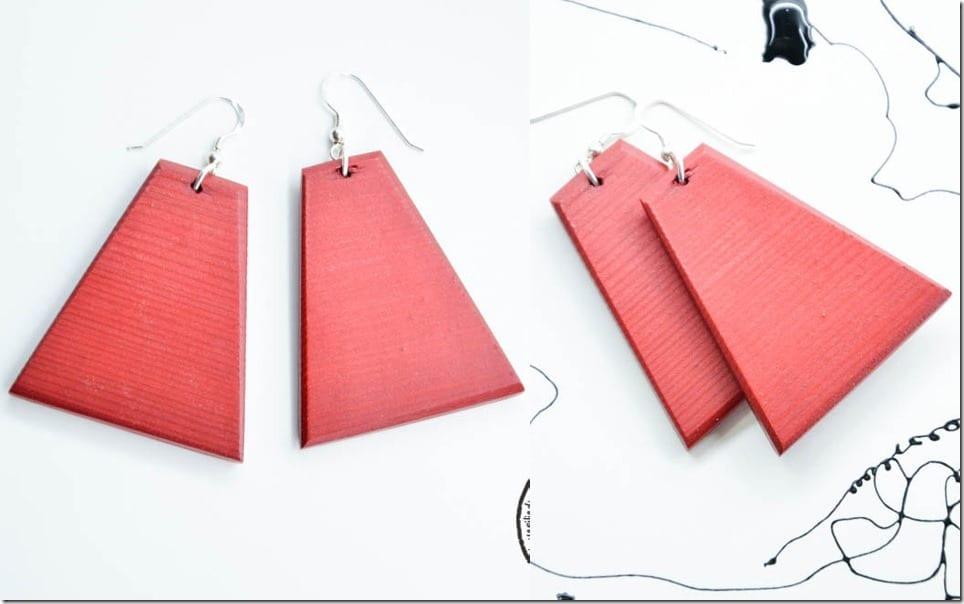 geometric-red-wood-earrings