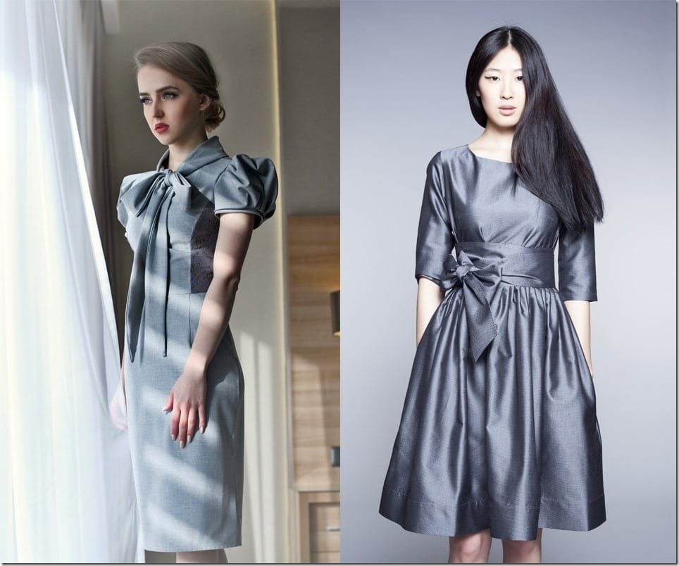10 Grey Dress Styles To Slip Into This Christmas 2016 Party Season