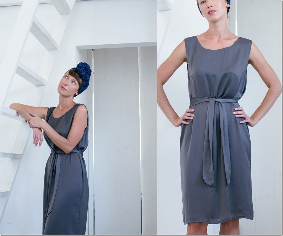 grey-sleeveless-shift-dress