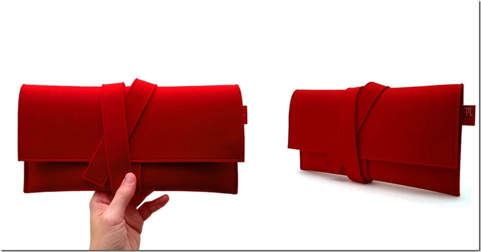 japanese-inspired-red-felt-clutch