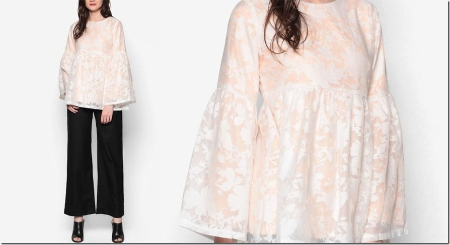long-bell-sleeve-blouse