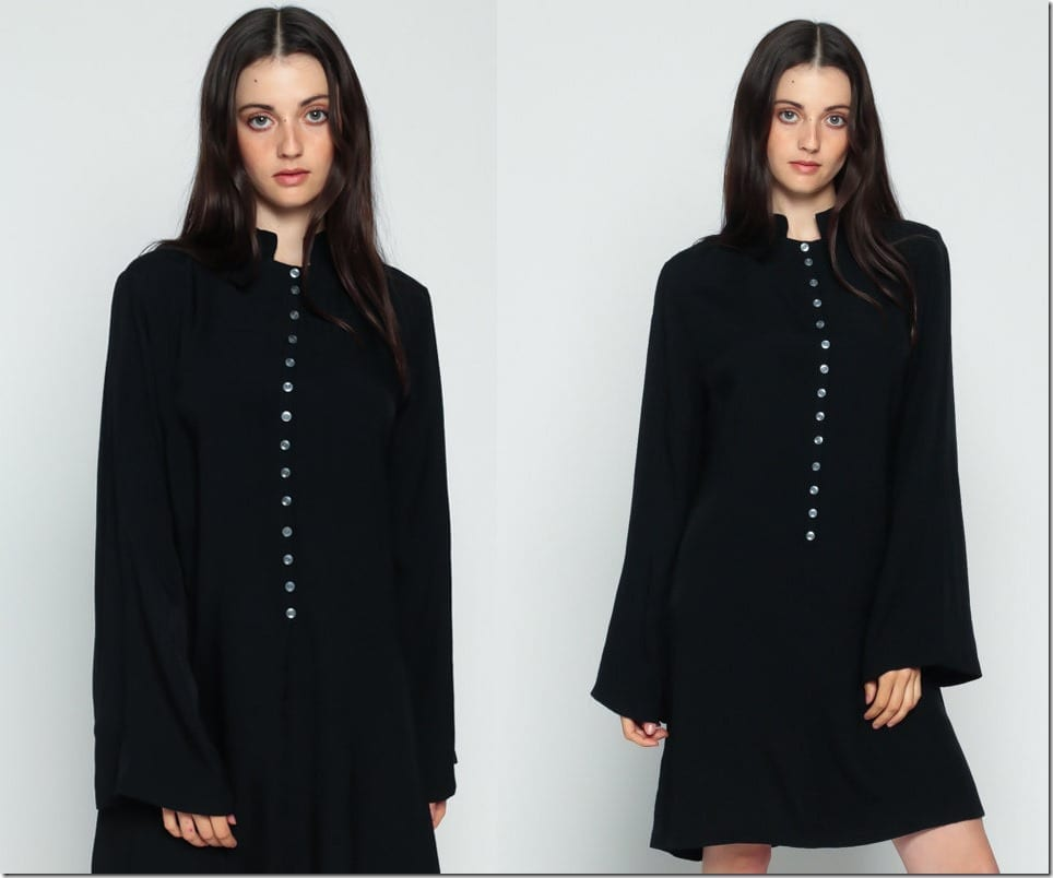 long-sleeve-black-button-up-70s-dress