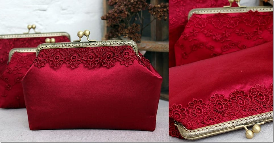 marsala-red-silk-lace-clutch