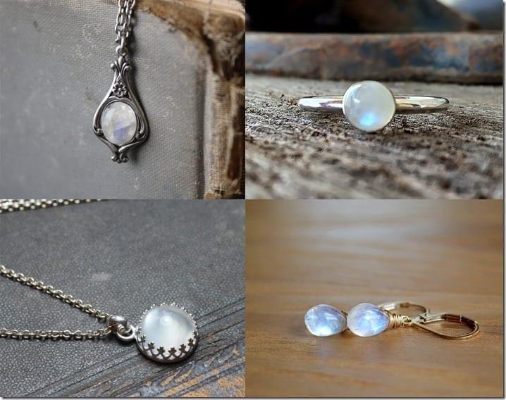Rainbow Moonstone Jewelry Ideas