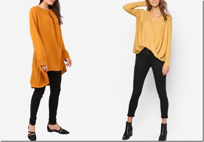 How To Wear Mustard Yellow In Flowy Silhouettes?