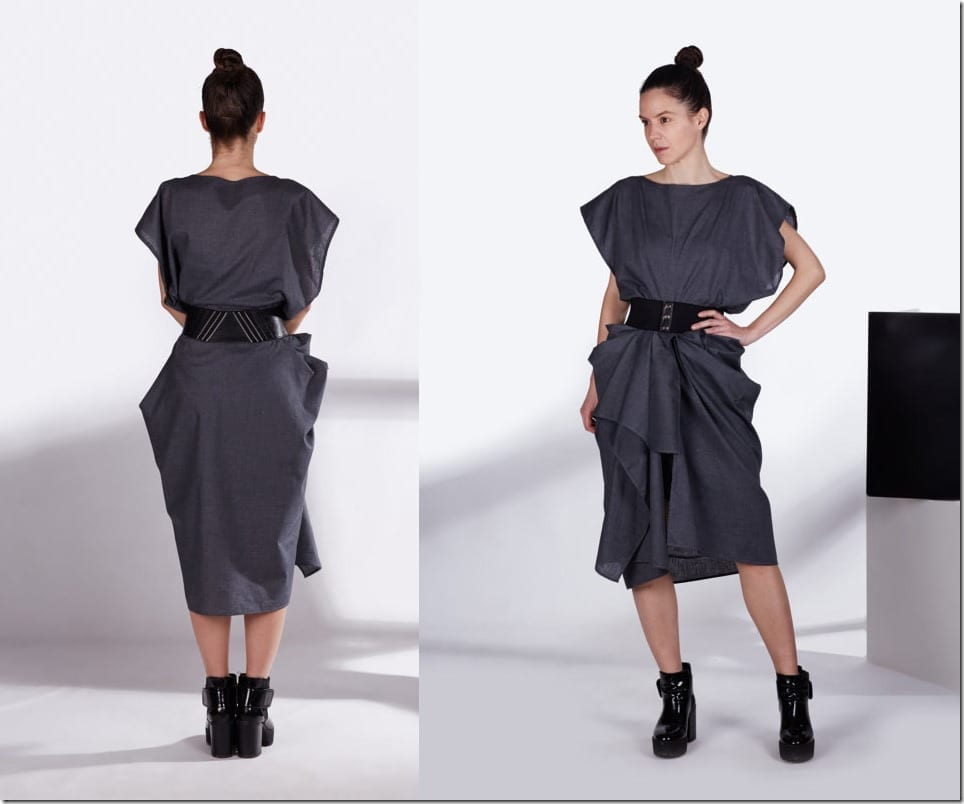 oversize-draped-asymmetric-grey-dress