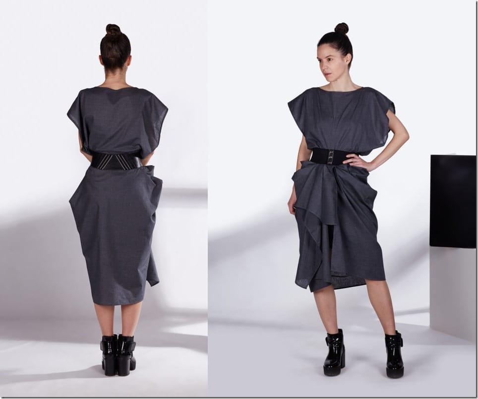 oversize-draped-asymmetric-grey-dress