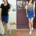 Fashionista NOW: The Raw Edge Denim Skirt Trend