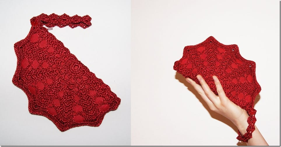 red-crochet-clutch-wristlet