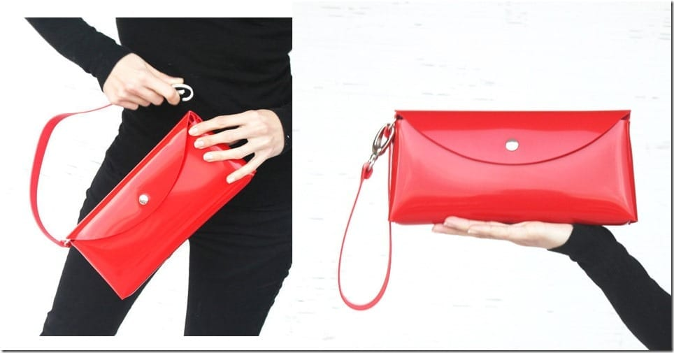 shiny-red-statement-clutch