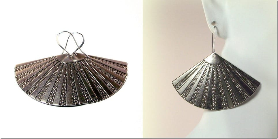 silver-art-deco-fan-earrings