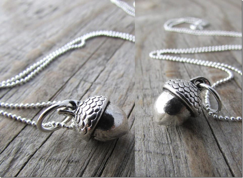 small-silver-acorn-necklace