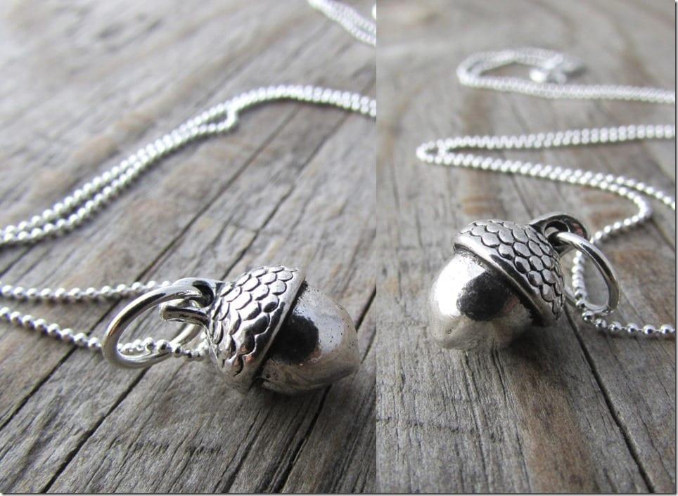small-silver-acorn-necklace