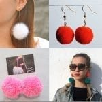 Fashionista NOW: Treat Your Earlobes Like A Christmas Tree By Wearing Pom Pom Earrings