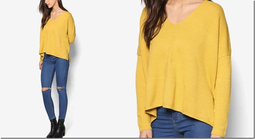 textured-asymmetric-yellow-sweater