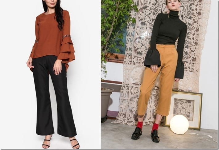 Make A Sleeve Style Statement In These Tops