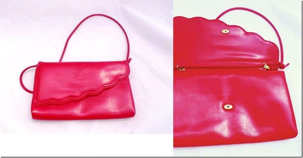 vintage-80s-cherry-red-scallop-clutch